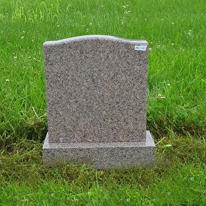 amazon com mountain rose granite monument gravemarker grave marker