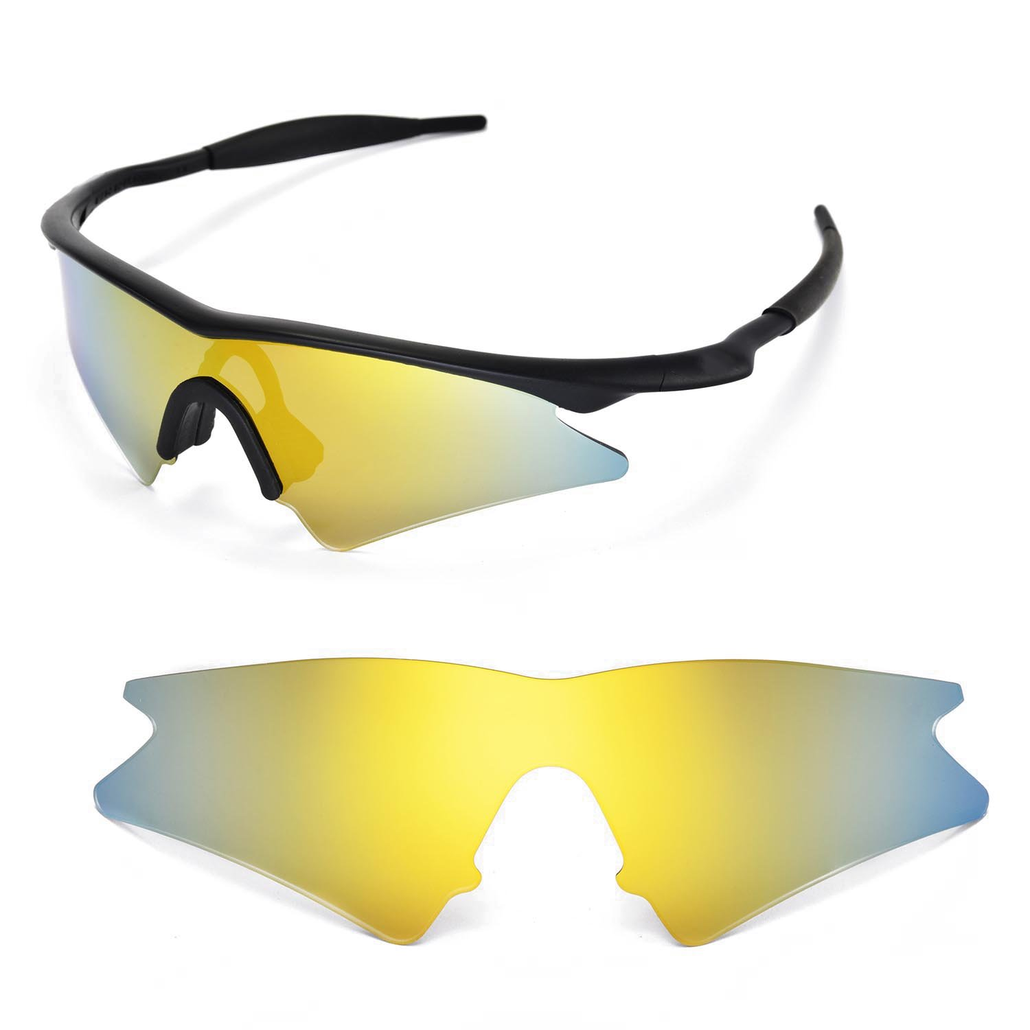 Walleva Replacement Lenses for Oakley M Frame Sweep Sunglasses ...