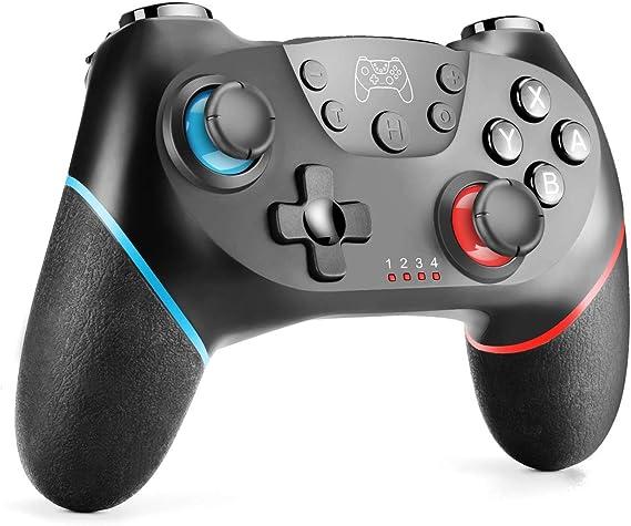 Controlador inalámbrico Switch Pro Gamepad Joypad Joystick remoto ...