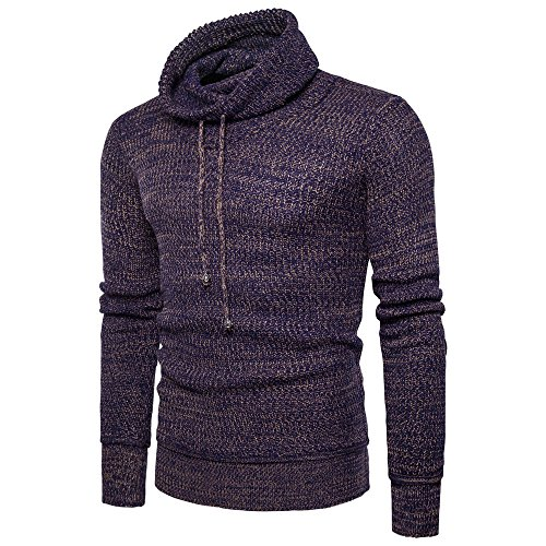 Men Sweater Men's Autumn Winter Sweater Pullover Loose Jumper Knitwear Outwear Blouse (Autumn Cashmere Short Sleeve Sweater)