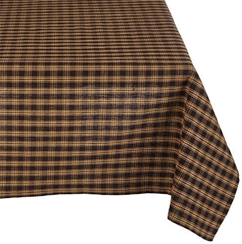 - Park Designs Black Sturbridge Table Cloth 54 X 54