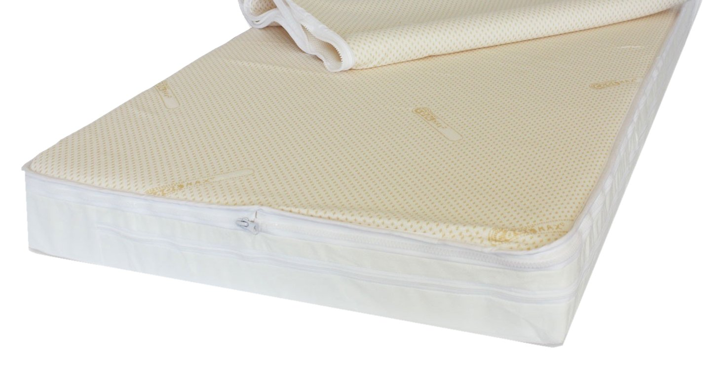 with Two Machine Washable Cover NightyNite/™ Microfibre Pocket Sprung Cot bed Mattress 130 x 70 x 10 Hypo-Allergenic one for the wash