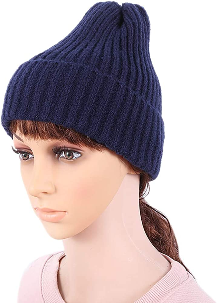 AKIMPE Trendy Chic Knitting Slouchy Baggy Winter Hat Oversize Unisex Hat