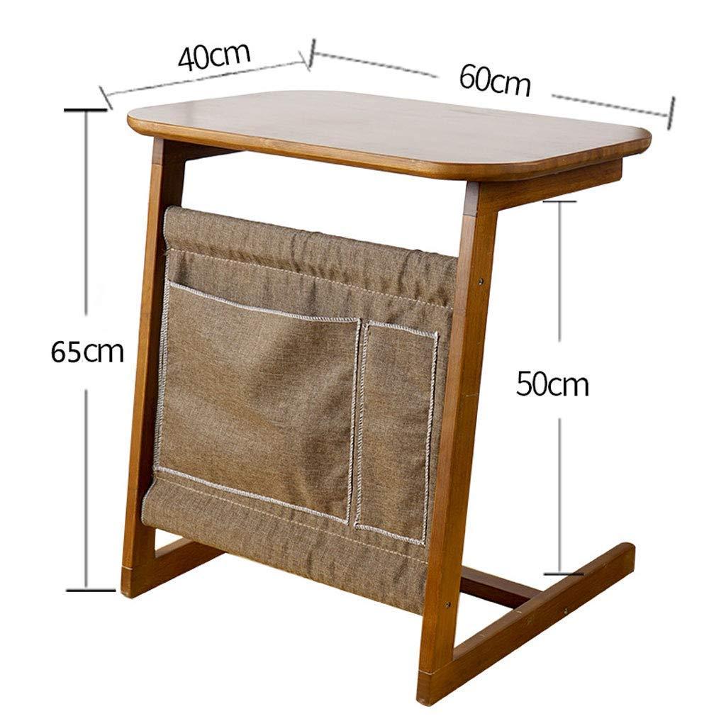 Amazon.com: LILISHANGPU Folding Table- Nordic Side End Nightstand ...