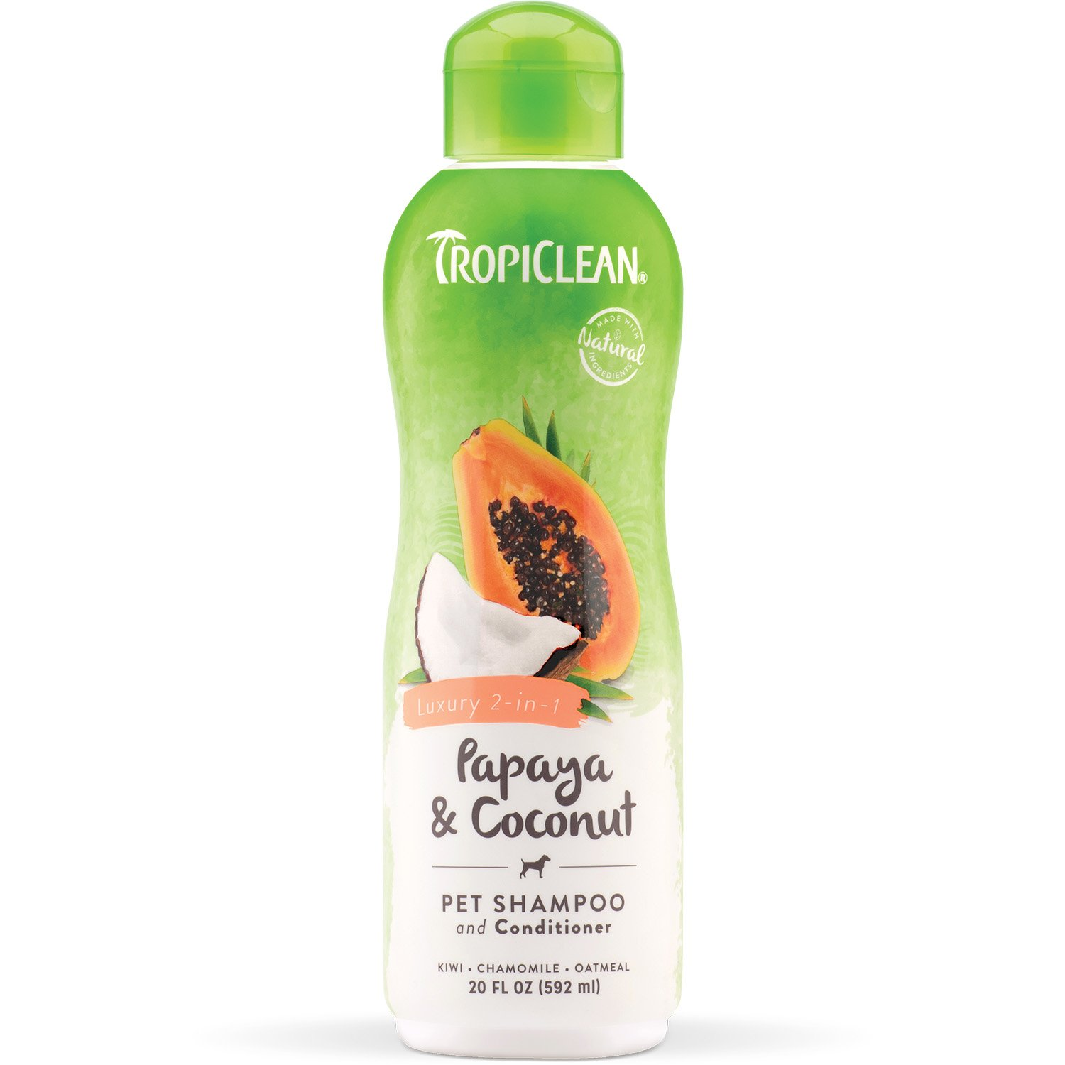 TropiClean Papaya and Coconut Pet Shampoo