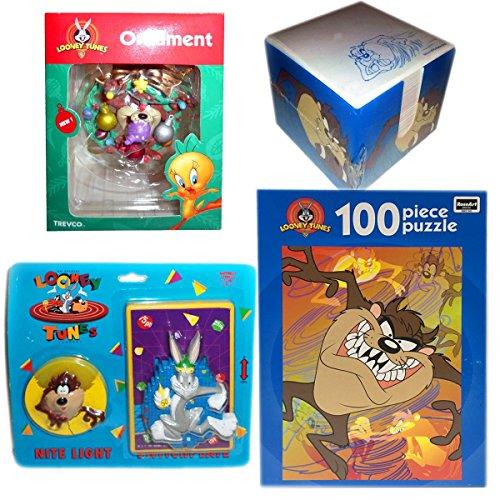 (Trevco Looney Tunes Tasmanian Devil Ornament, Notepad, Nite Light, Switchplate, Puzz...)