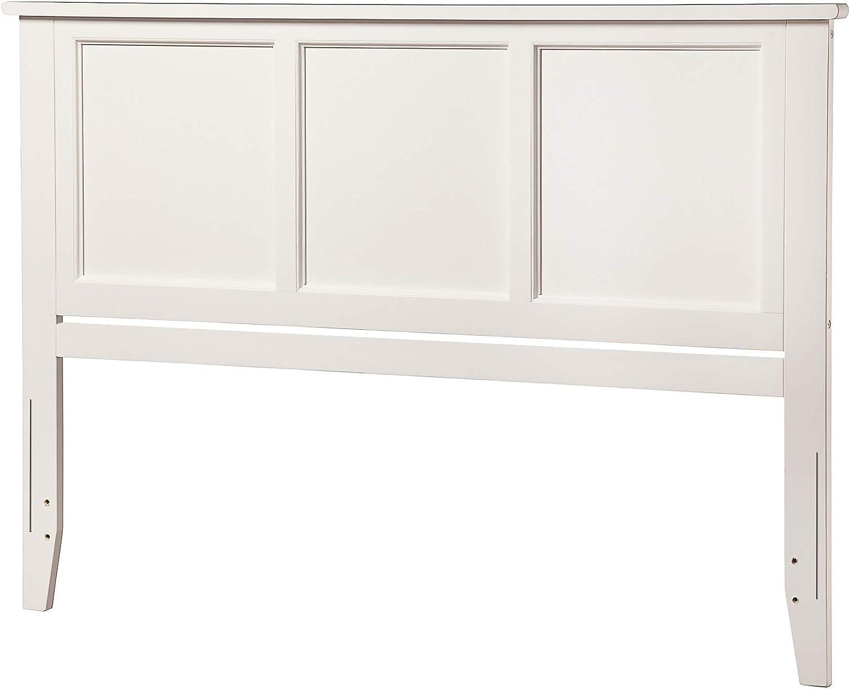 Atlantic Furniture Madison Headboard, King, White