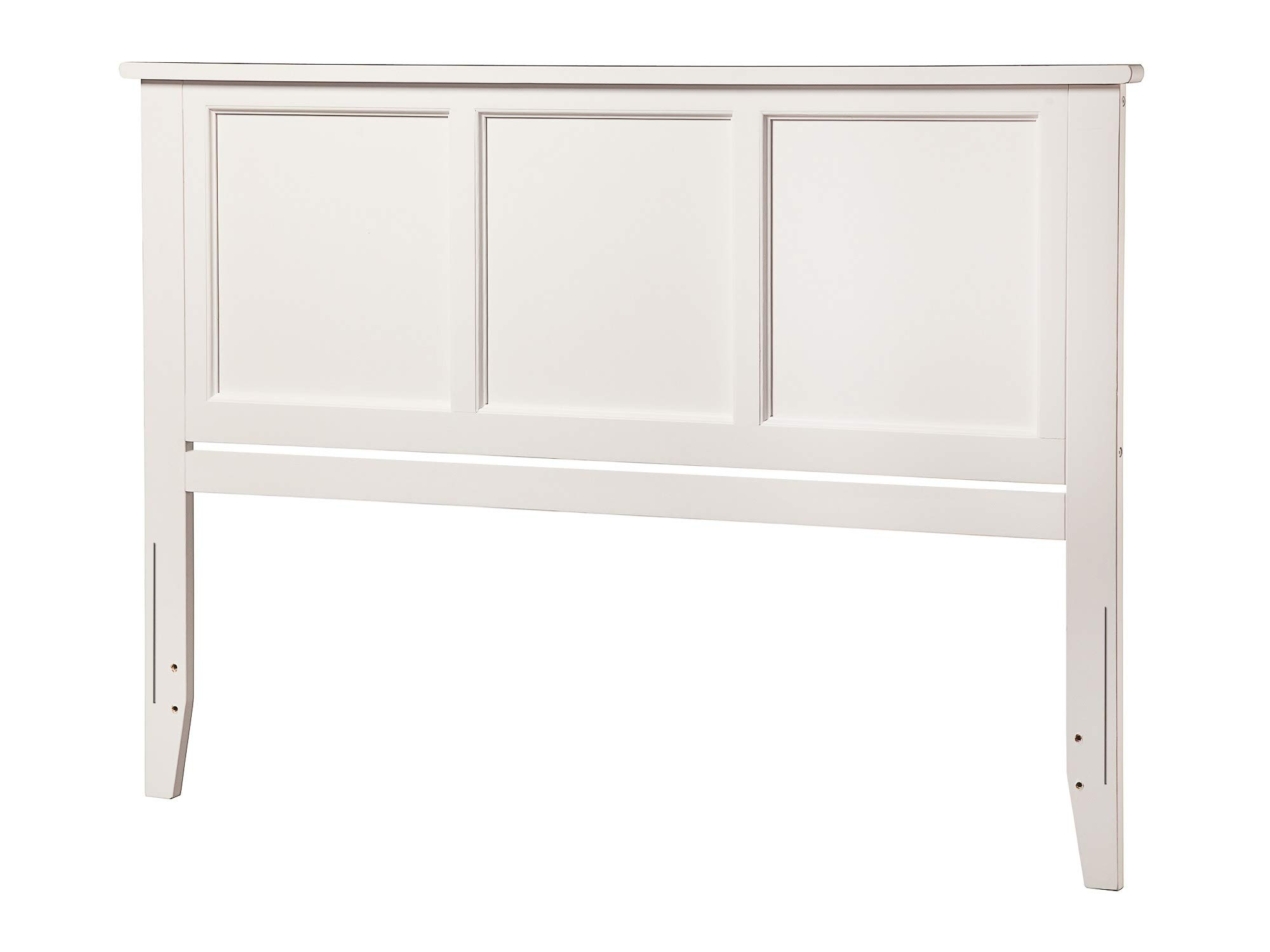 Atlantic Furniture AR286842 Madison Headboard, Queen, White by Atlantic Furniture