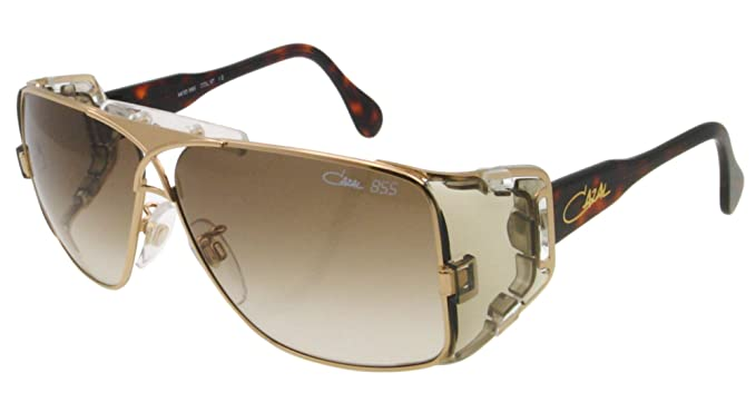 Amazon Com Cazal Cz 955 Sunglasses 097 Havana Gold 63mm Cazal