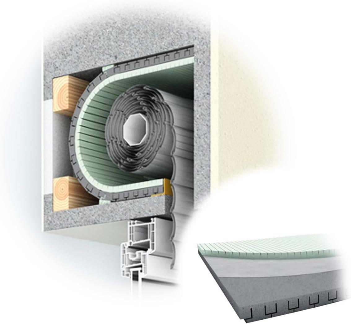 Diwaro - Aislamiento de persiana enrollable, térmico, grosor de 25 mm, longitud de 1000 mm, para cajas de persianas: Amazon.es: Bricolaje y herramientas