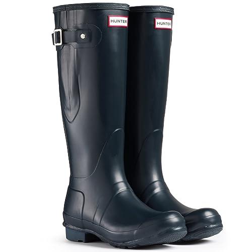 detailed pictures d2ebe 26010 Hunter Boots Original Adjustable - Neve Stivali Pioggia Acqua Stivali delle  Donne Unisex