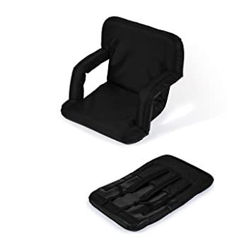 Portable Multiuse Adjustable Recliner Stadium Seat by Trademark Innovations (Black)  sc 1 st  Amazon.com & Amazon.com : Portable Multiuse Adjustable Recliner Stadium Seat by ... islam-shia.org