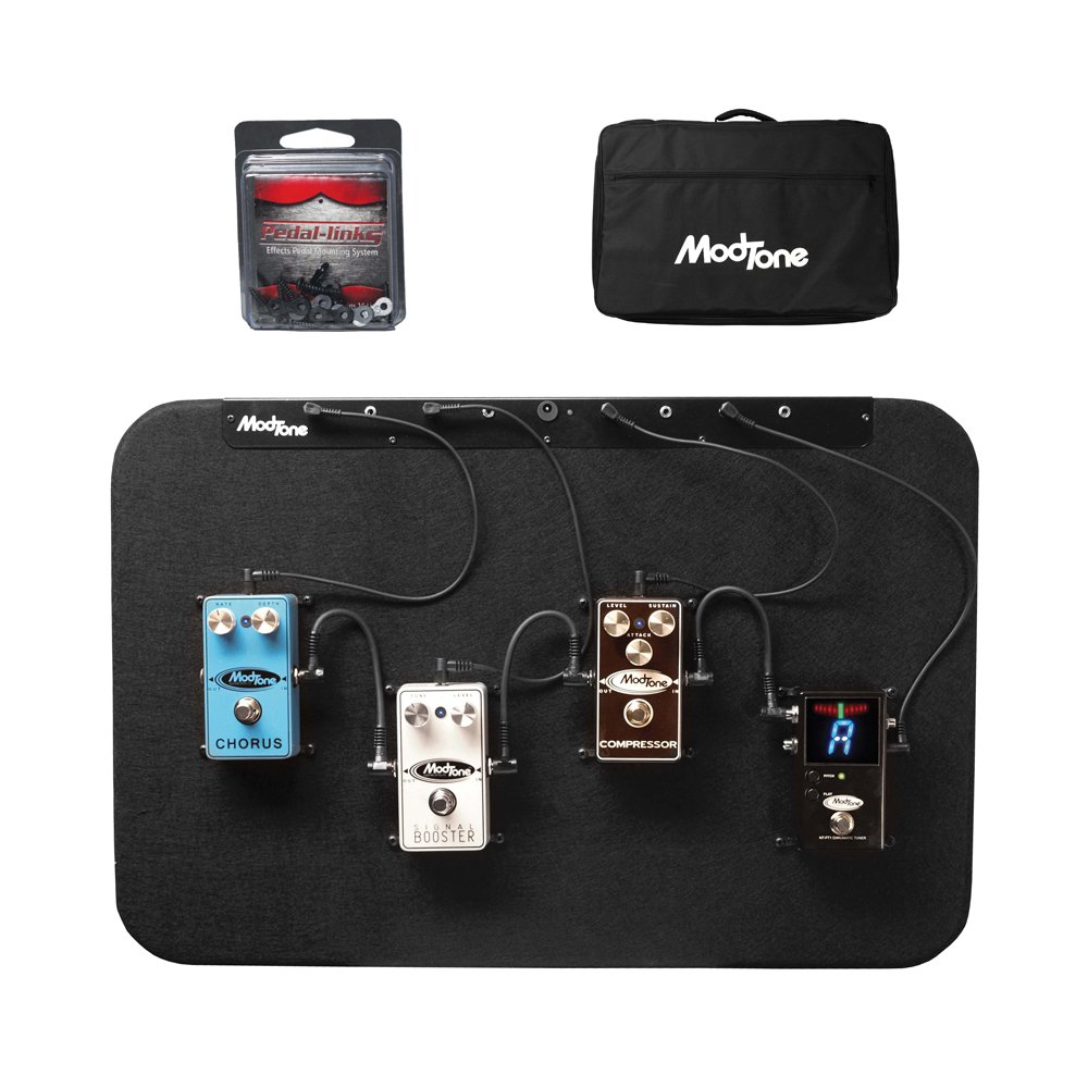 ModTone Guitar Effects MT-ACOUSTIC Ready Board 4 Hard Mounted Pedals For Acoustic Music