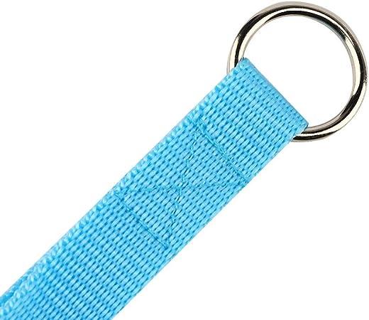 Yowablo Hundebrustgurt Und Leine Set New Soft Breathable Air Nylon Mesh Puppy 28 44cm Blau Haustier