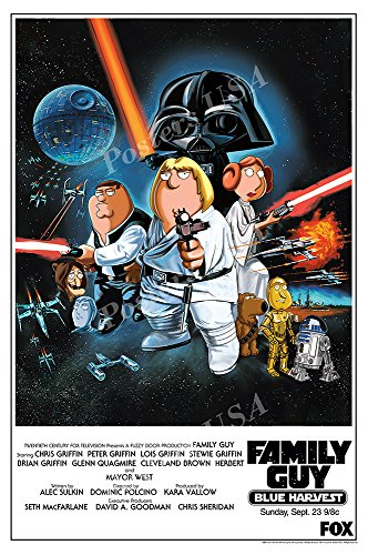 Posters USA - Family Guy Blue Harvest Movie Poster GLOSSY FINISH - FIL592 (24