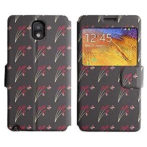 LEOCASE Funda Carcasa Cuero Tapa Case Para Samsung Galaxy Note 3 N9000 No.1007655