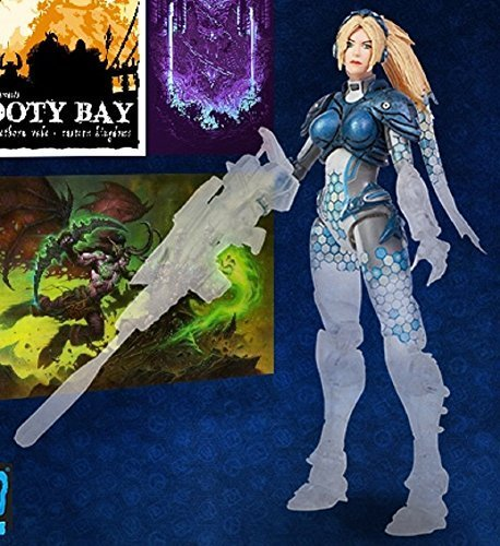 SDCC 2016 Blizzard Exclusive Heroes of the Storm Cloaking Nova Action Figure by Heroes of the Storm