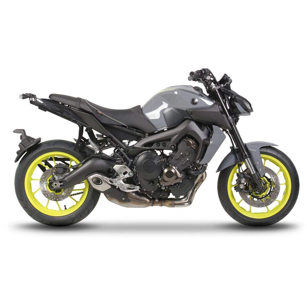 Black SHAD Y0MT97IF 3P System Yamaha MT09 17