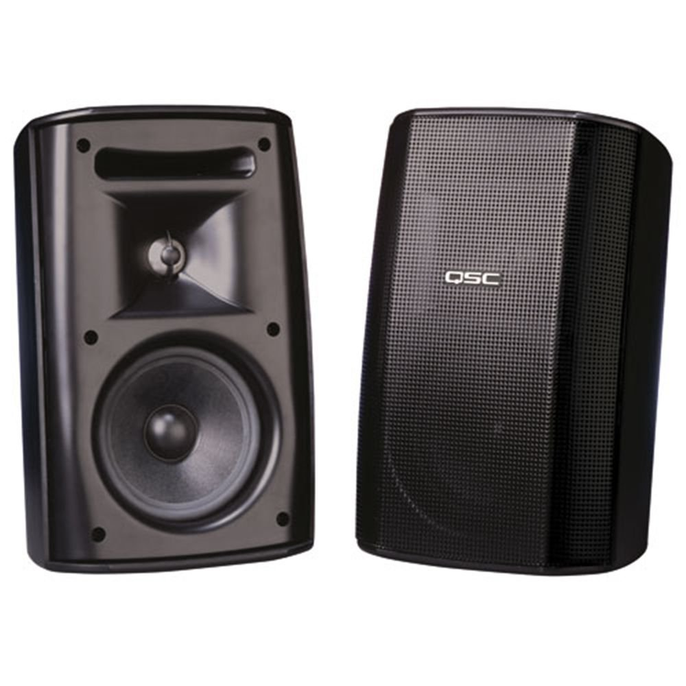 QSC ウォールマウントスピーカー AD-S52T-BK B006BL84SC