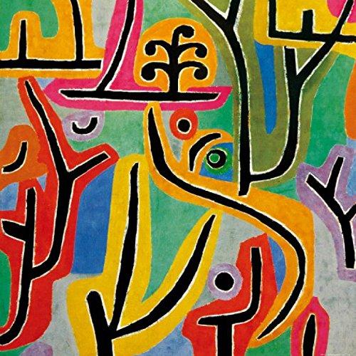 Posters: Paul Klee Poster Art Print - Park Near Lu, 1938