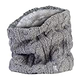 Heat Holders - Women's Thermal Winter Neck Warmer Gaitor - 3.5 Tog - One Size (Light Grey)