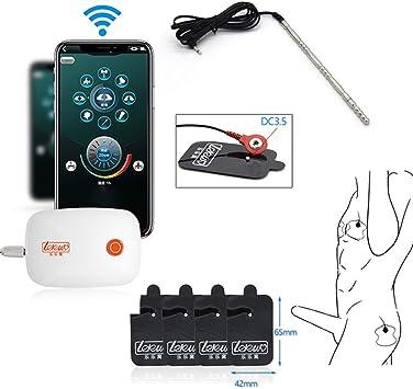 Juego Control Remoto ElectroestimulacióN Dilatador Uretral Y ...