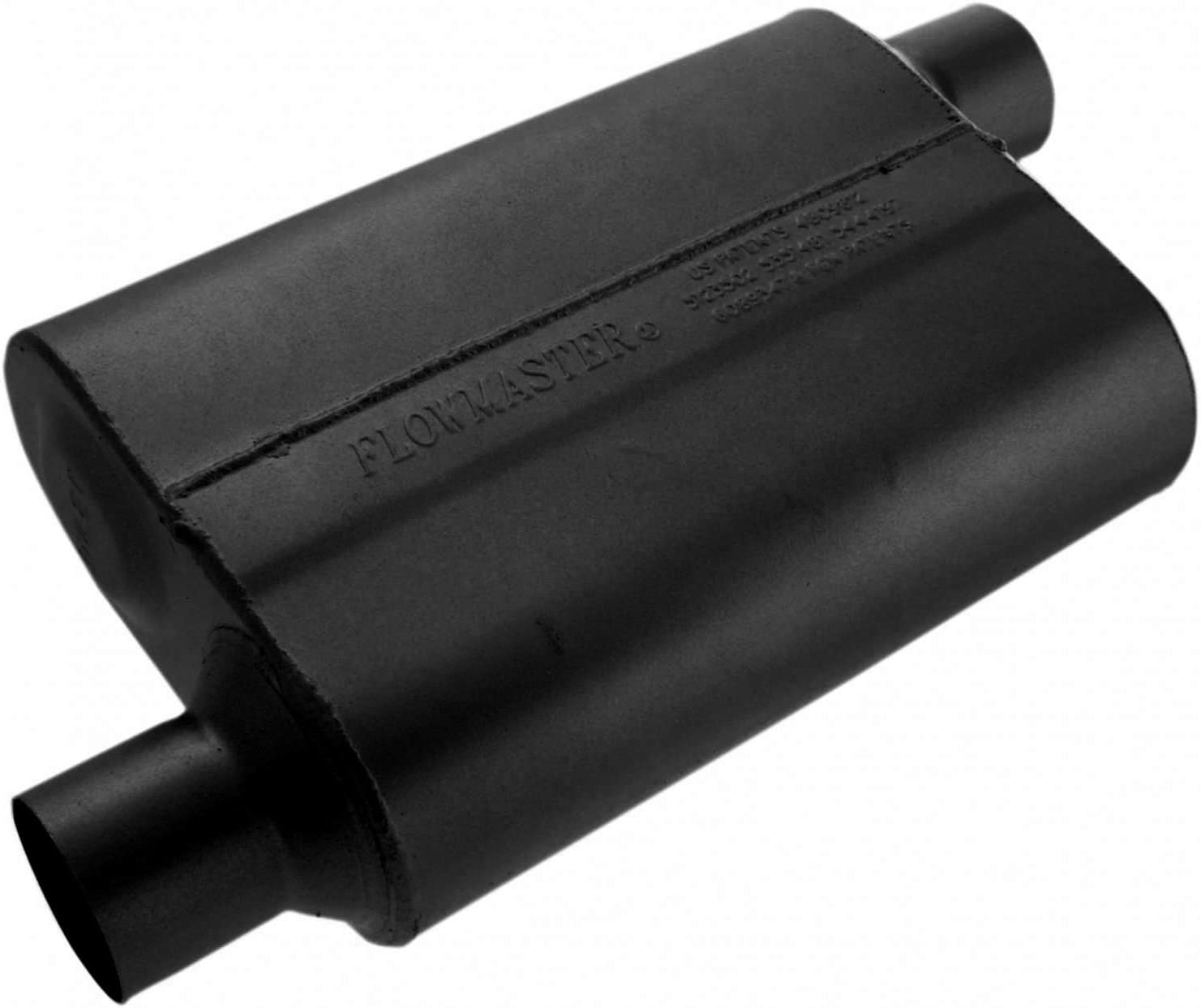 B000182DMY Flowmaster 42543 40 Series Muffler - 2.50 Offset IN / 2.50 Offset OUT - Aggressive Sound 61Dki9DnBfL.SL1500_