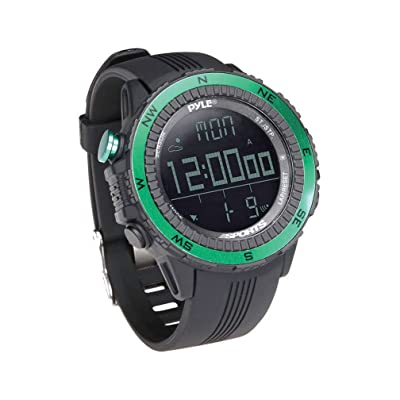 PYLE PSWWM82GN Digital Multifunction Active Sports Watch