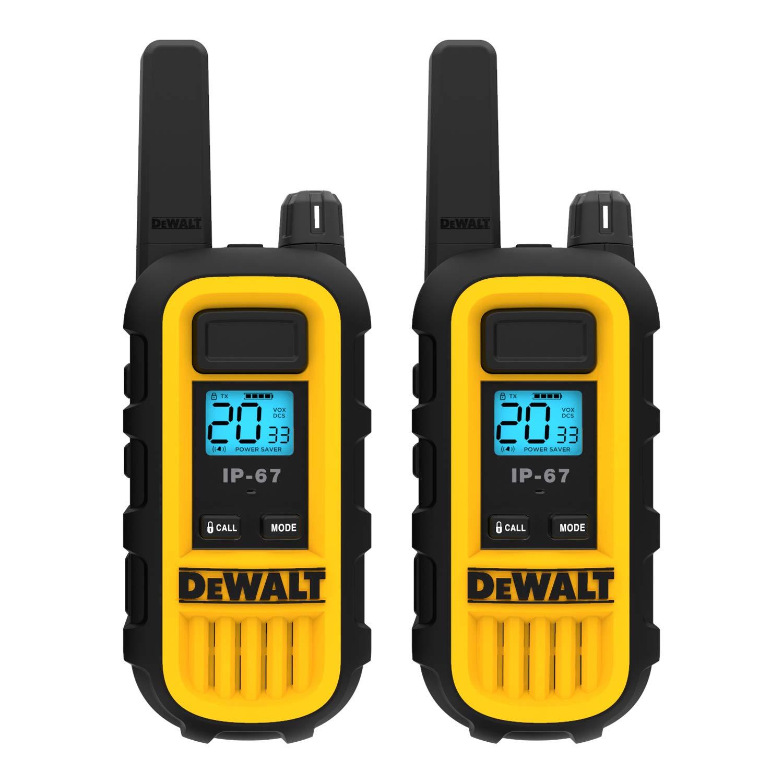 DeWALT DXFRS300 1W Walkie Talkies Heavy Duty Business Two-Way Radios (Pair) by DEWALT (Image #3)