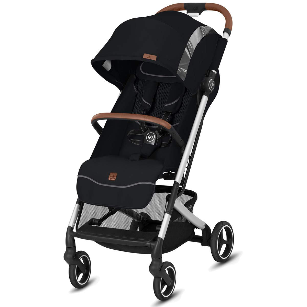 GB 2019 QBIT+ All City''Velvet Black'' Fashion Edition - from Birth up to 17 kg (Approx. 4 Years) - GoodBaby QBIT Plus All-City