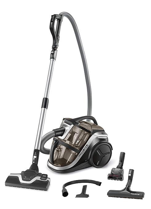 Rowenta Silence Force Multi RO8388EA Aspirador sin bolsa multiciclónico, silencioso, fácil de limpiar, vaciar y almacenar, incluye con accesorios para ...