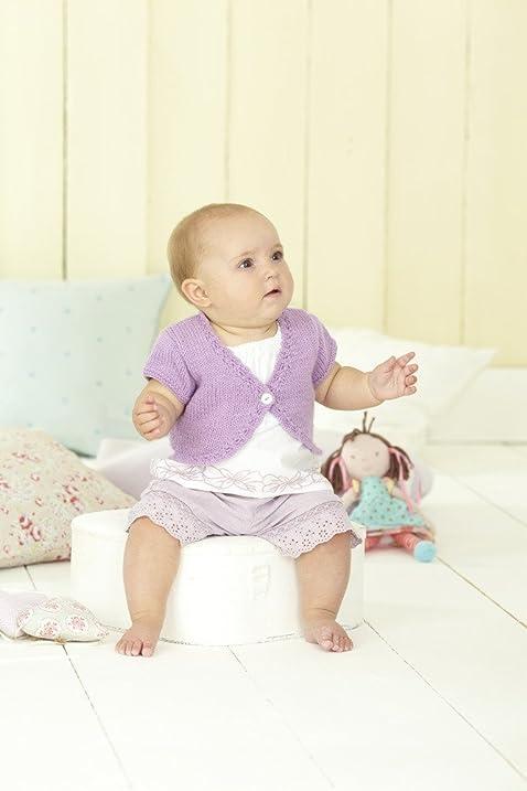 Amazon Sirdar Snuggly Dk Baby Girls Boleros Knitting Pattern