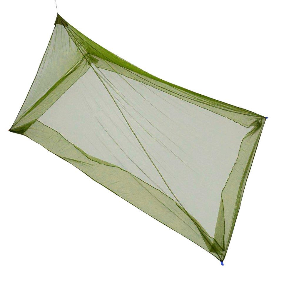theBlueStone Mosquitera para Cama de Matrimonio, Camping o Camping (Incluye 4 Pinzas y una Bolsa de Transporte)