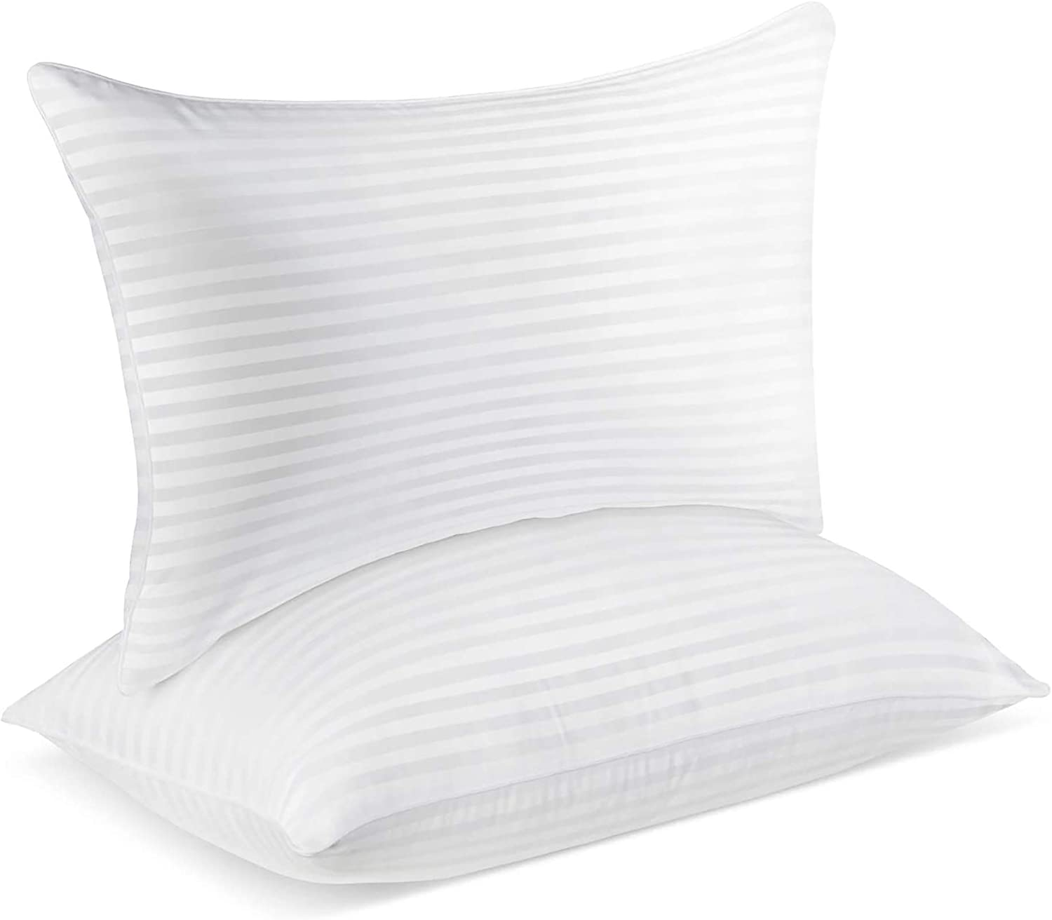 SUMITU Hotel Pillows for Sleeping 2 Pack Standard Size 20 x 26 Inches, Hypoallergenic Pillow for Side and Back Sleeper, Soft Bed Gel Pillows Set of 2, Down Alternative Cooling Pillow: Home & Kitchen