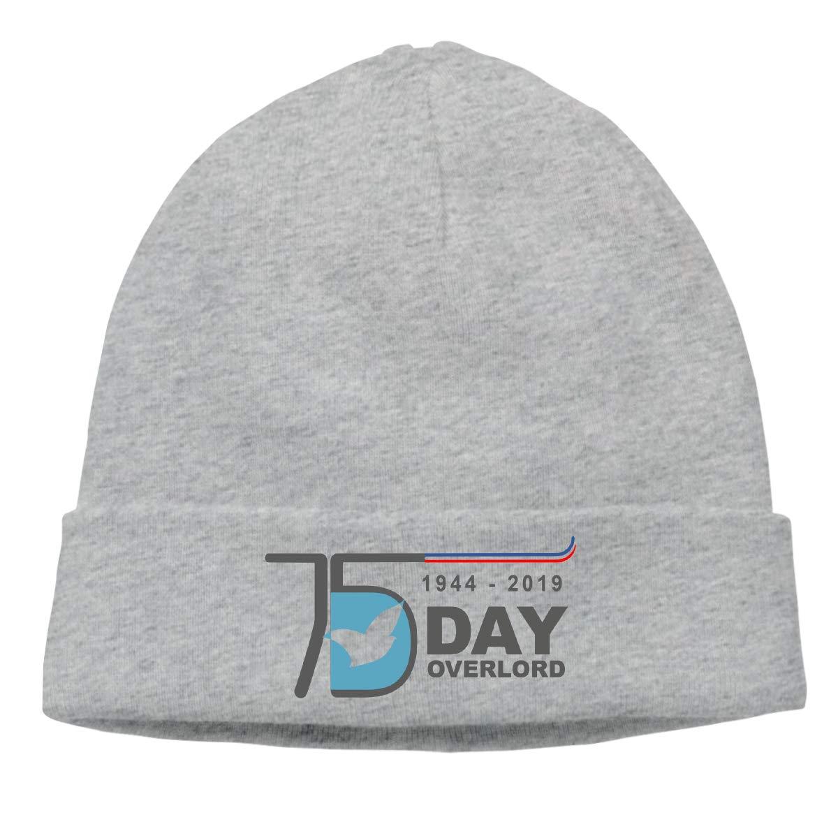 BBlooobow Men Women D-Day 75th Anniversary Calendar Soft Knit Caps