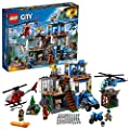 LEGO City Police Mountain Police Headquarters 60174 Building Kit (663 Piece)