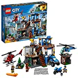 LEGO City Mountain Police Headquarters 60174 Building Kit (663 Piece)