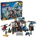 LEGO City Mountain Police Headquarters 60174 Building Kit (663 Piece)