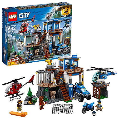 (LEGO City Mountain Police Headquarters 60174 Building Kit (663 Piece))