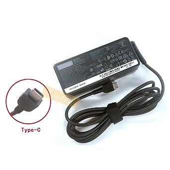 Amazon.com: Cargador USB tipo C de 65 W para Lenovo T470 ...