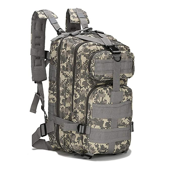 XXIAZHI,Mochila de camuflaje mochila táctica impermeable para acampar hombro mochila táctica(color: