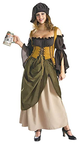 bec88ede2b0 Amazon.com  Rubie s Costume Co Tavern Wench Adult - Large  Toys   Games