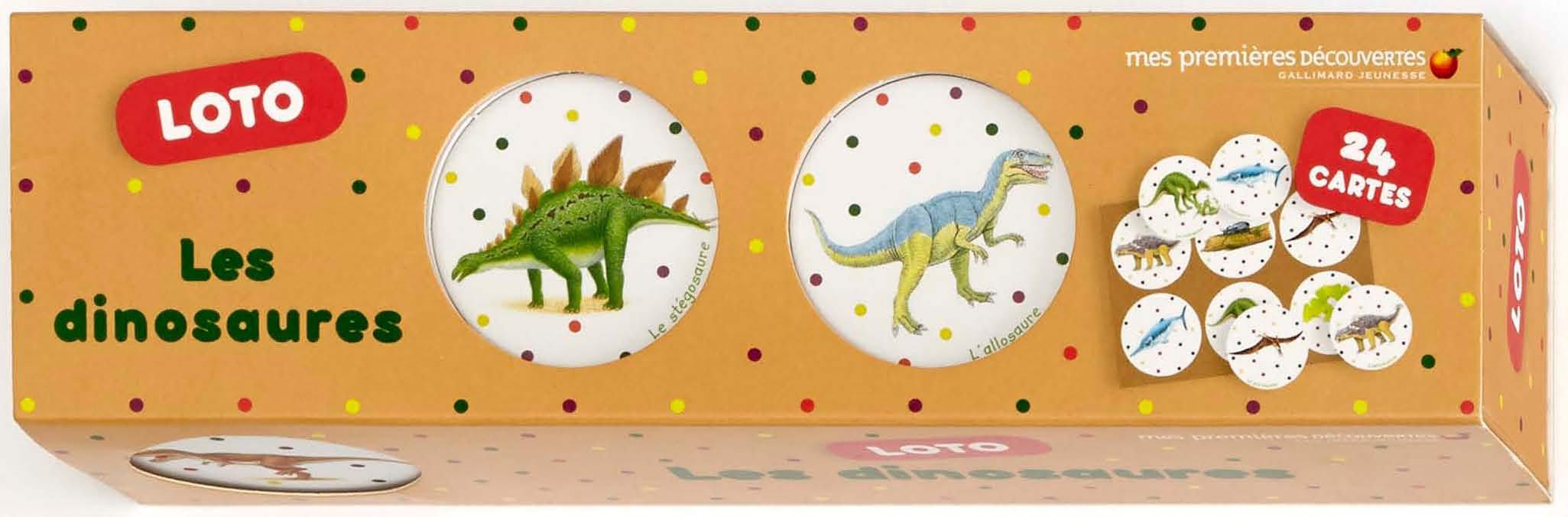 Les dinosaures: Loto Poche – 11 février 2016 Collectif Mes Premières Découvertes B0155YWFCG Documentaire / Encyclopédie