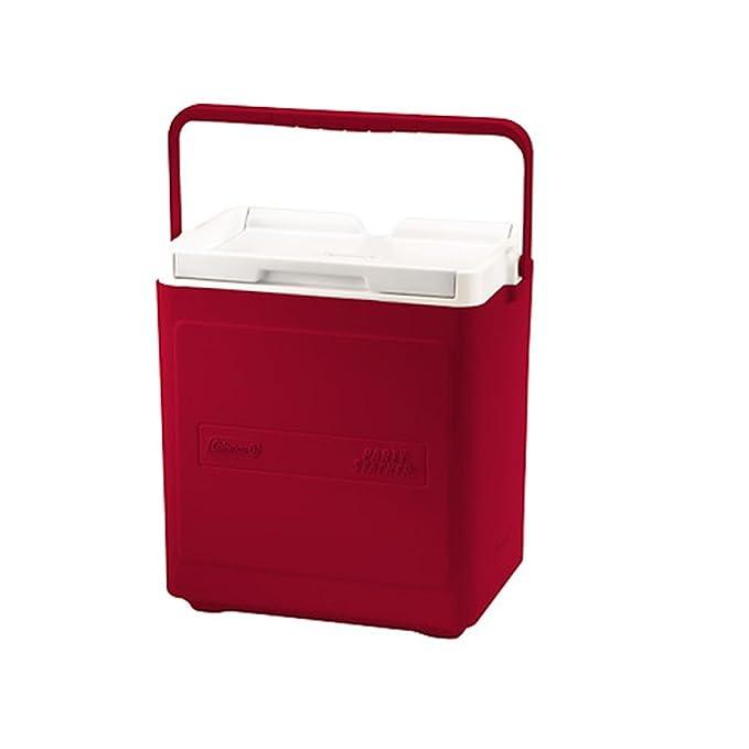 Coleman Passive Cooler - Nevera para Acampada, Color Rojo/Blanco ...