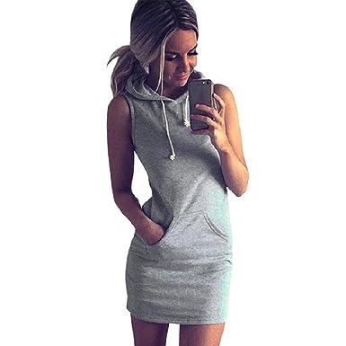 Ansenesna Kleid Damen A Linie Sommer Kurz Elegant Sommerkleider ...