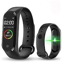 M4 Bluetooth Akıllı Bileklik Saat Dijital Ekran Su Geçirmez Titreşimli Universal