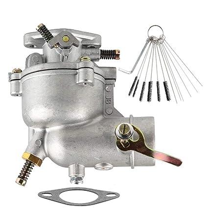 Amazon com: Dxent Carburetor fit Briggs & Stratton 390323