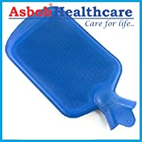 Asbob® Hot Water Bag/Bottle Non-Electrical for Pain Relief (2 Litre - Blue)