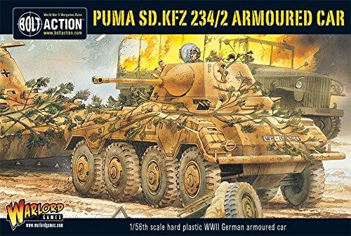 Sd.kfz 234//2 Armoured Car Puma Warlord Games Wgb.wm.506 Bolt Action