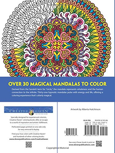 Creative Haven Magical Mandalas Coloring Book: By the - Import It All